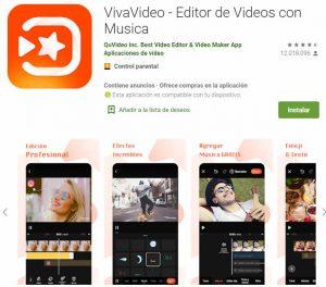aplicaciones para hacer videos con fotos